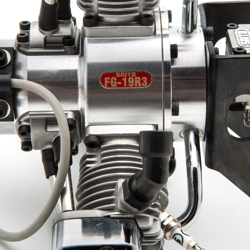 FG-19R3 3-Cylinder Gas Radial Engine: CB