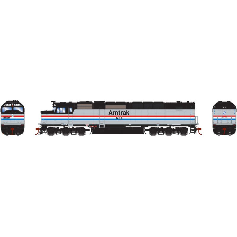 HO SDP40F with DCC & Sound Amtrak #631