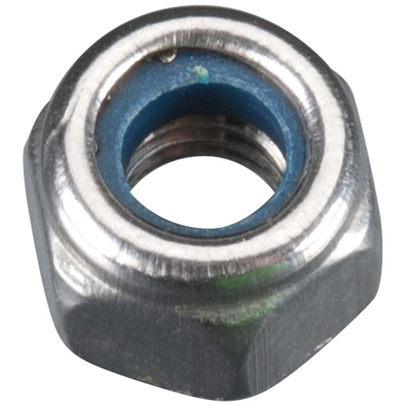 Stainless Steel M4 Prop Nut with Nylon Insert