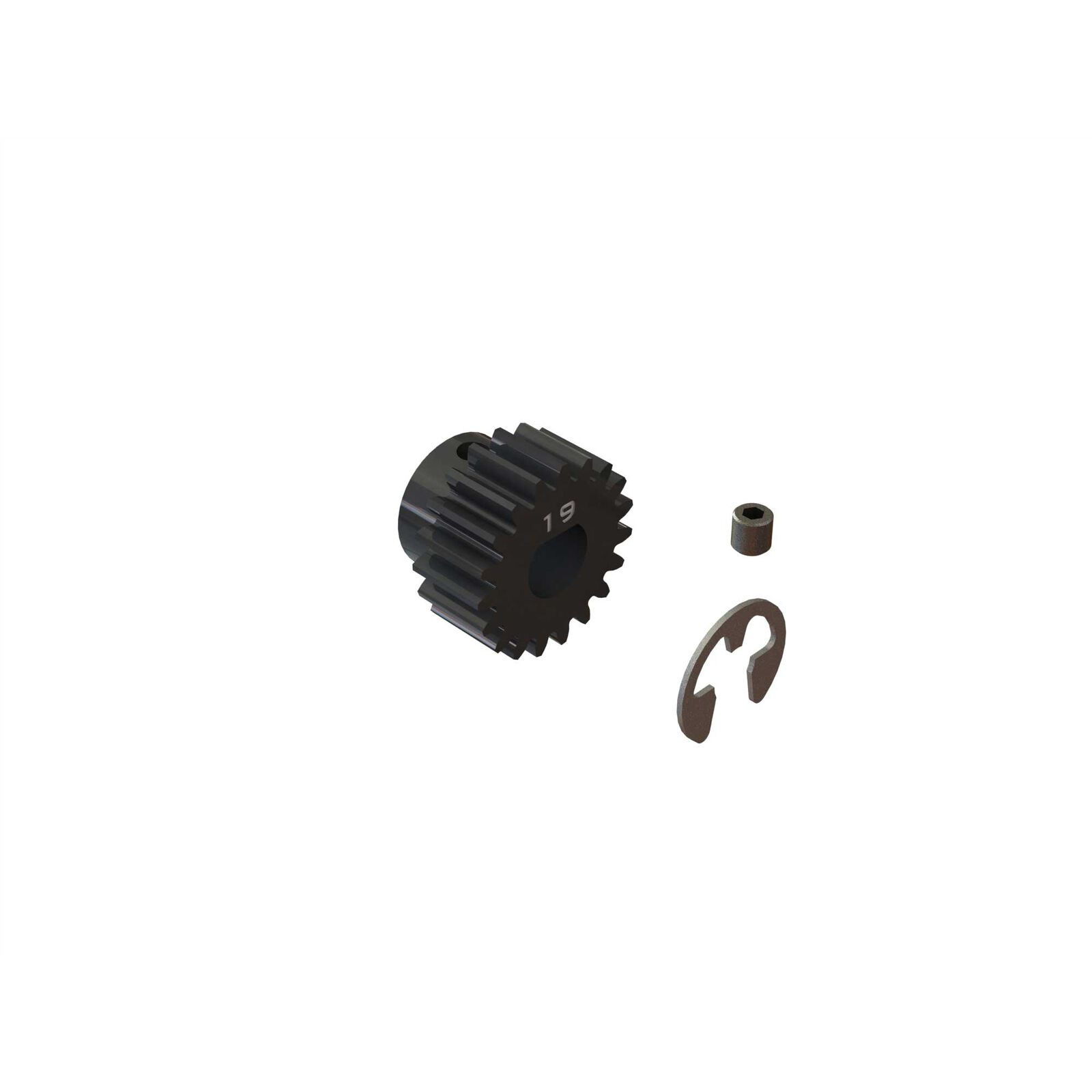 19T Mod1 Safe-D8 Pinion Gear