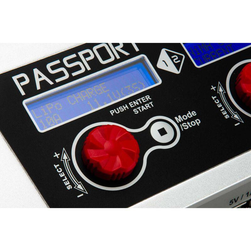 Passport Duo 400W Dual AC/DC Charger