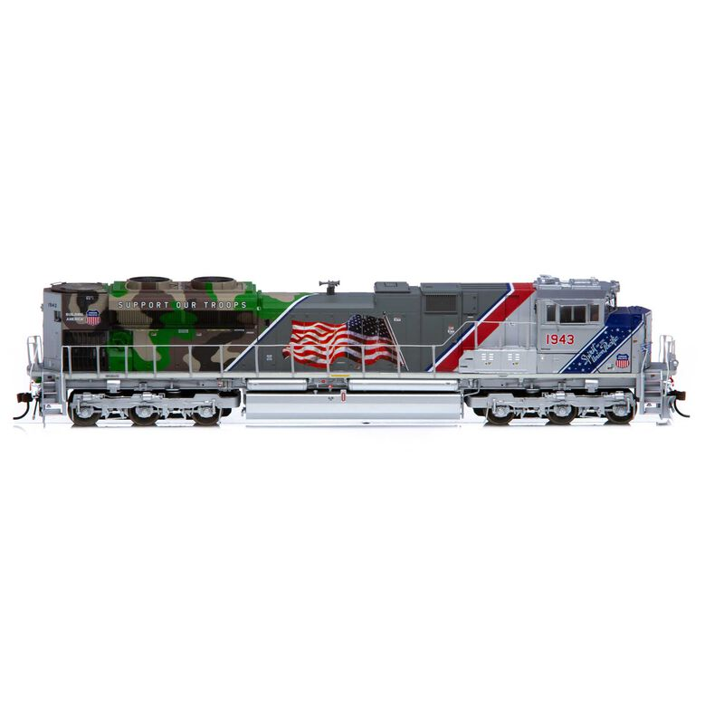 HO SD70ACe with DCC & Sound UP/Spirit of UP #1943