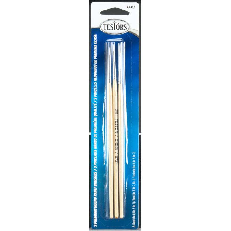 Premium Round Brushes (3)