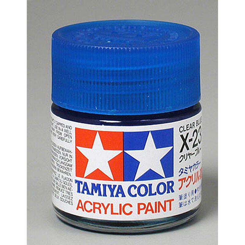 Acrylic X23 Gloss,Clear Blue