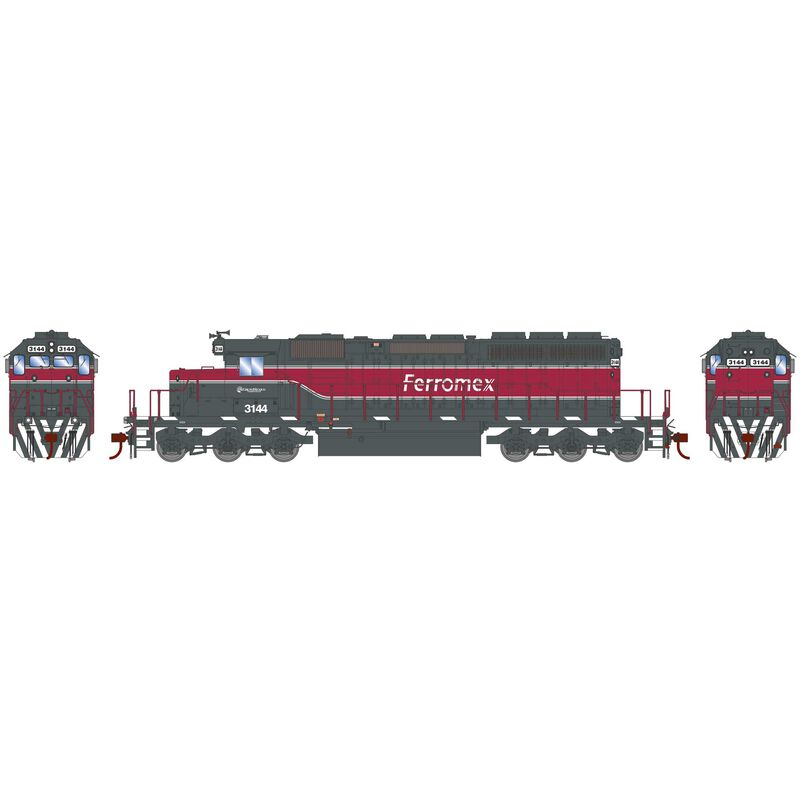 HO RTR SD40-2 Ferromex New Scheme #3144