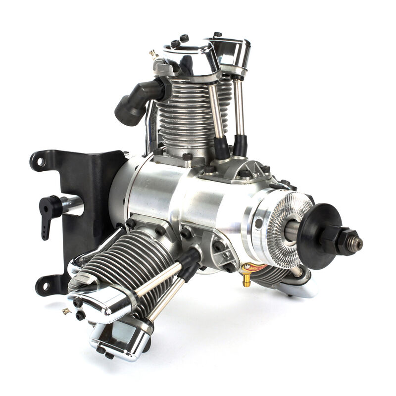33cc 3-Cylinder Gas Radial Engine: BS