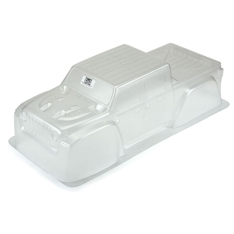 1/5 Pre-Cut Jeep Gladiator Rubicon Clear Body: X-MAXX