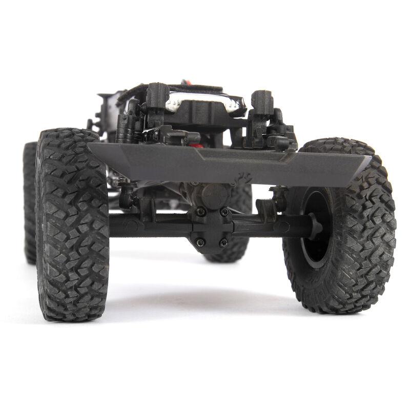 1/24 SCX24 2019 Jeep Wrangler JLU CRC 4WD Rock Crawler Brushed RTR, Yellow