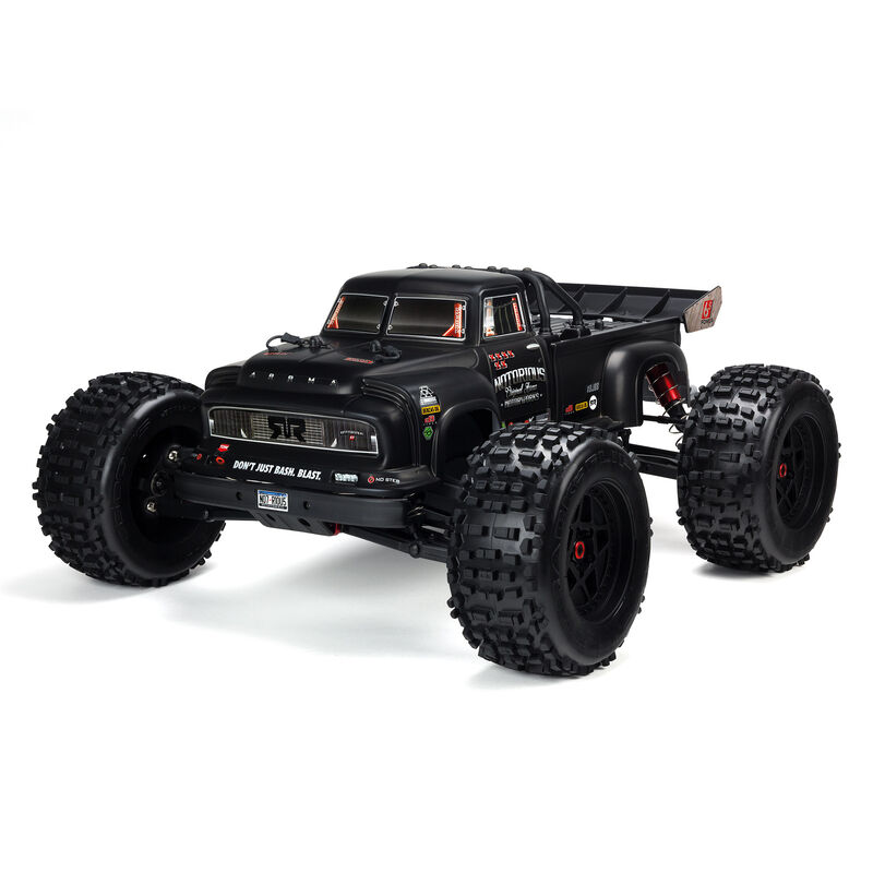 1/8 NOTORIOUS 6S BLX 4WD Brushless Classic Stunt Truck with Spektrum RTR, Black