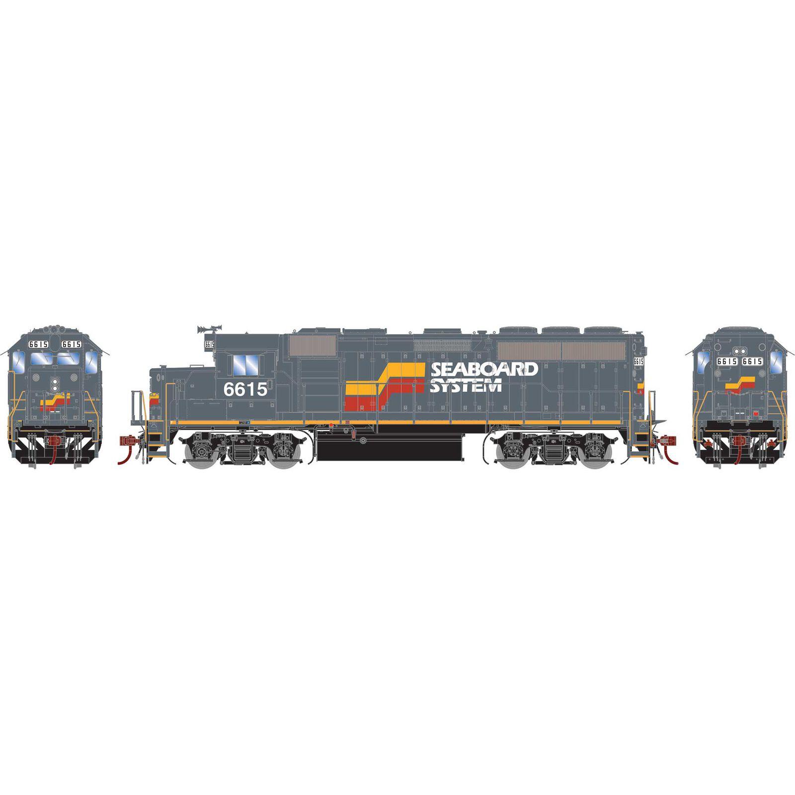 HO GP40-2 with DCC & Sound, SBD/Ex-L&N #6615