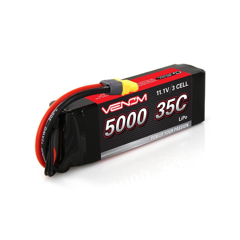 11.1V 5000mAh 3S 35C DRIVE LiPo Battery: UNI 2.0 Plug