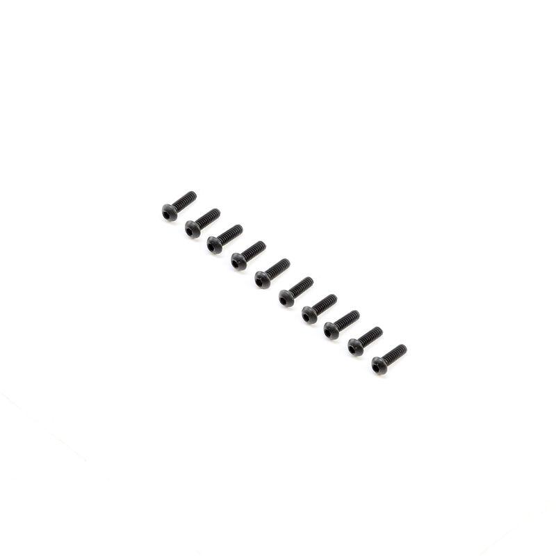 Button Head Screws M2x6mm (10)
