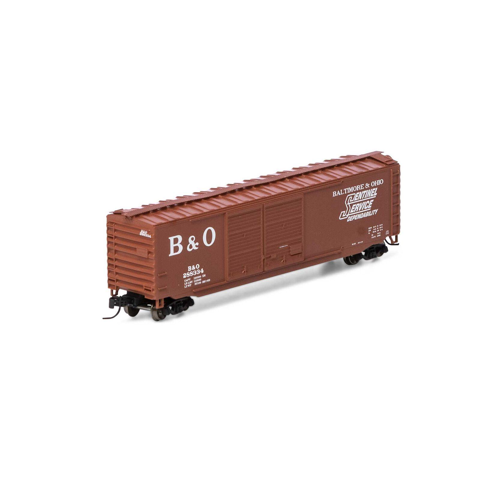 N 50' Double Sliding Door Box B&O #288334