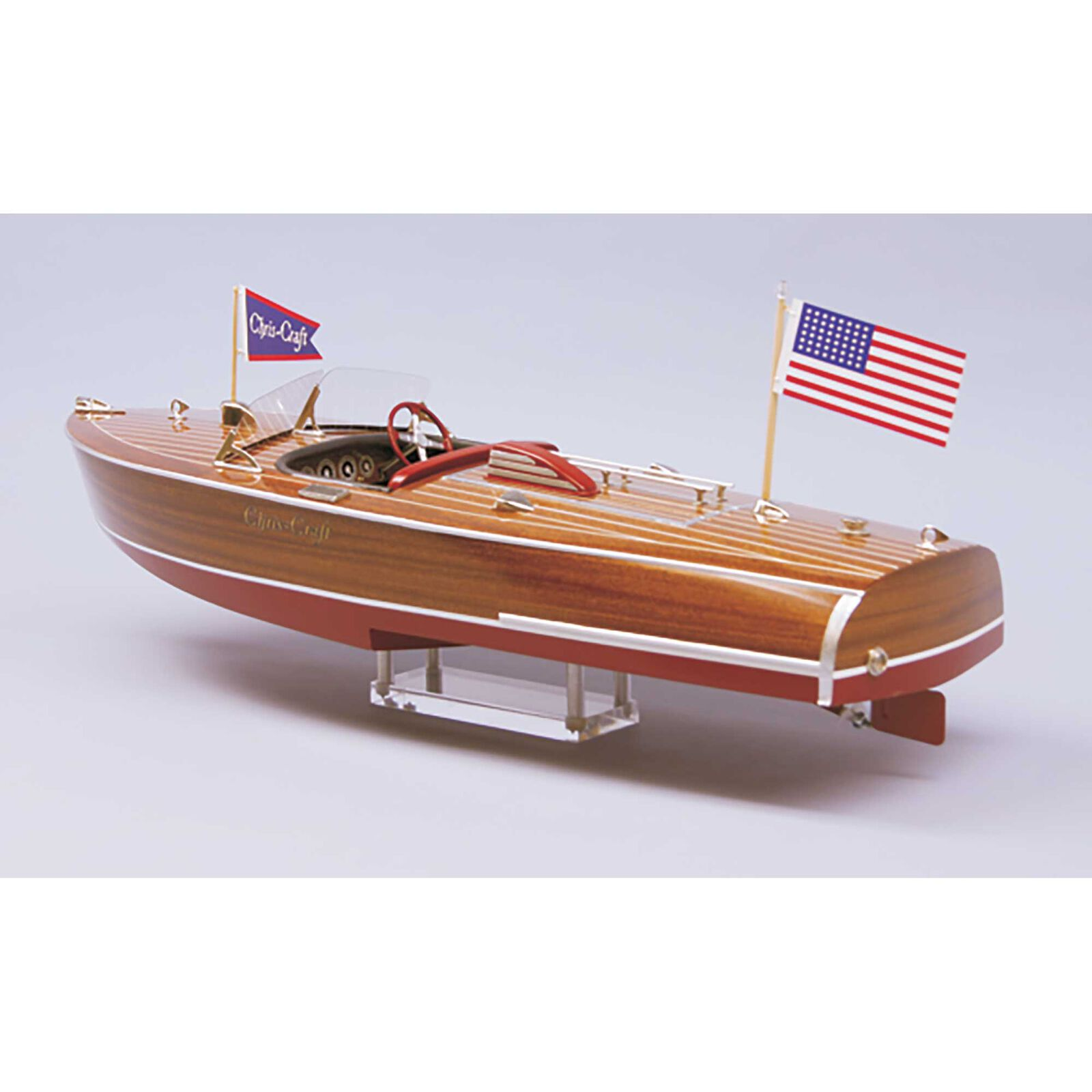 "1/8 1941 Chris-Craft Hydroplane Boat Kit, 24"""