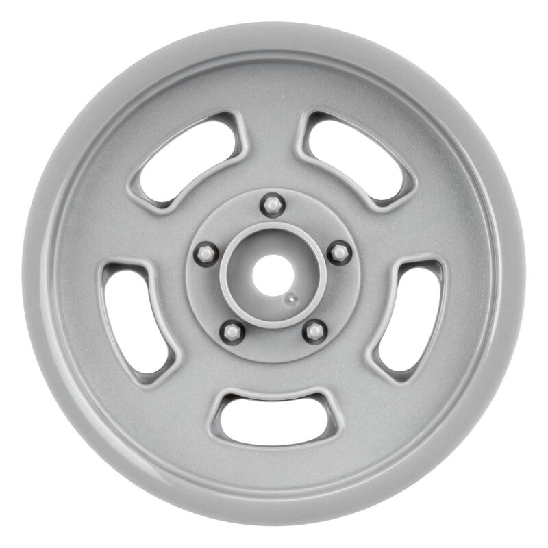 "1/10 Slot Mag Drag Spec Front 2.2"" 12mm Drag Wheels (2) Gray"