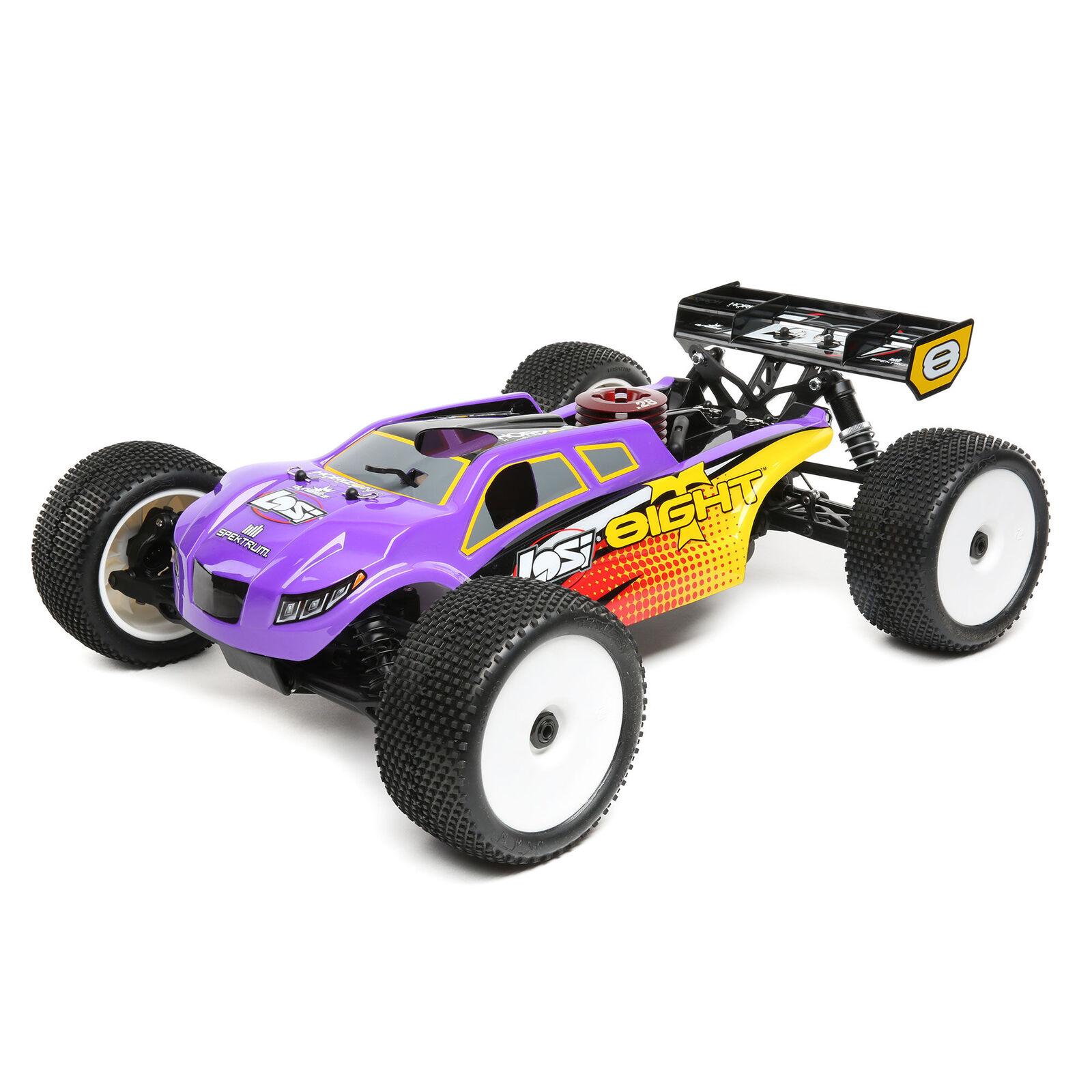 RC 04001 Aluminium Chassis Lila Für HSP 1:10 Elektro Buggy Truggy