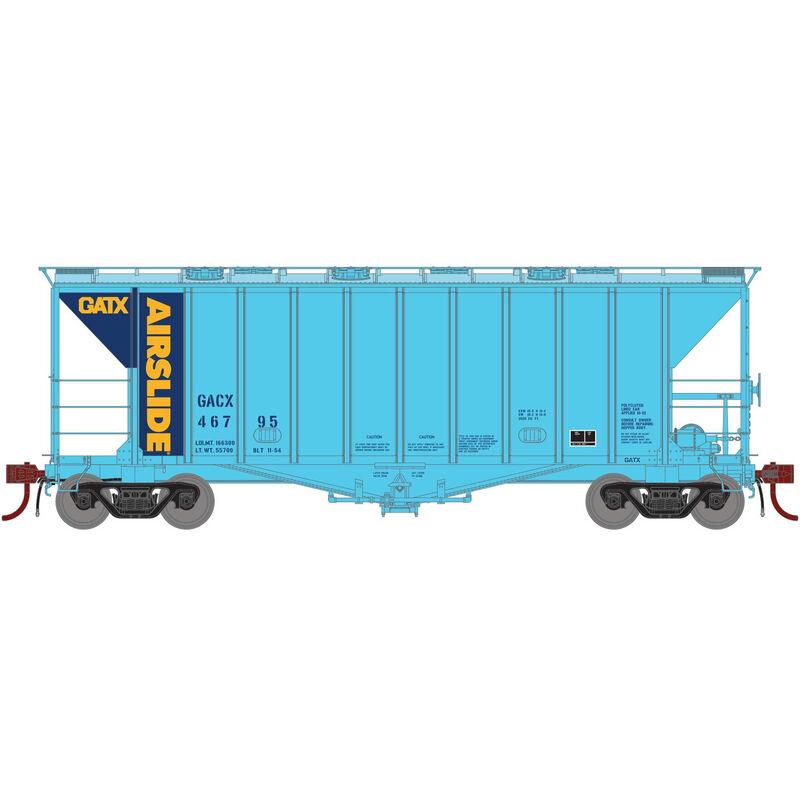 N GATC 2600 Airslide Hopper GATX #46795