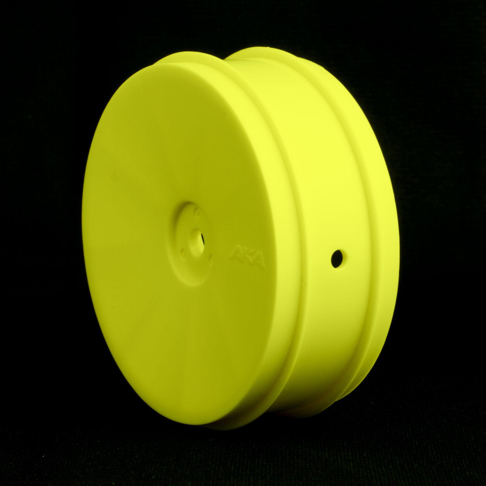 1/10 Buggy EVO Front Wheel, Yellow: ASC, KYO (2)
