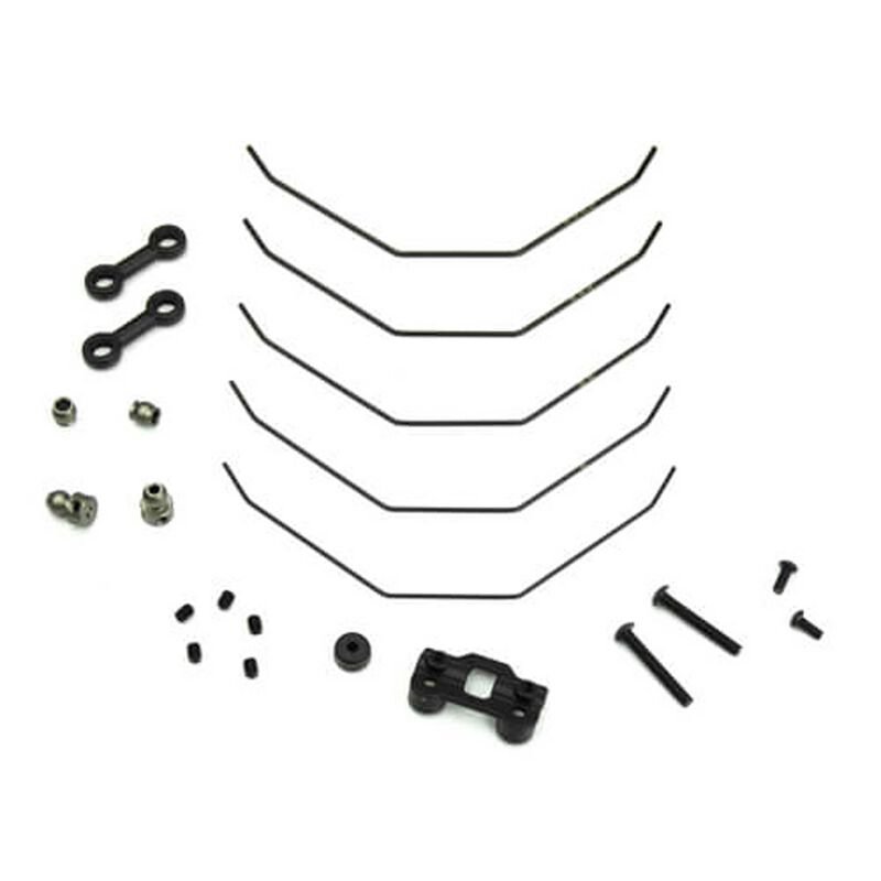 Sway Bar Kit, Front, Complete 1.0-1.4mm: EB410