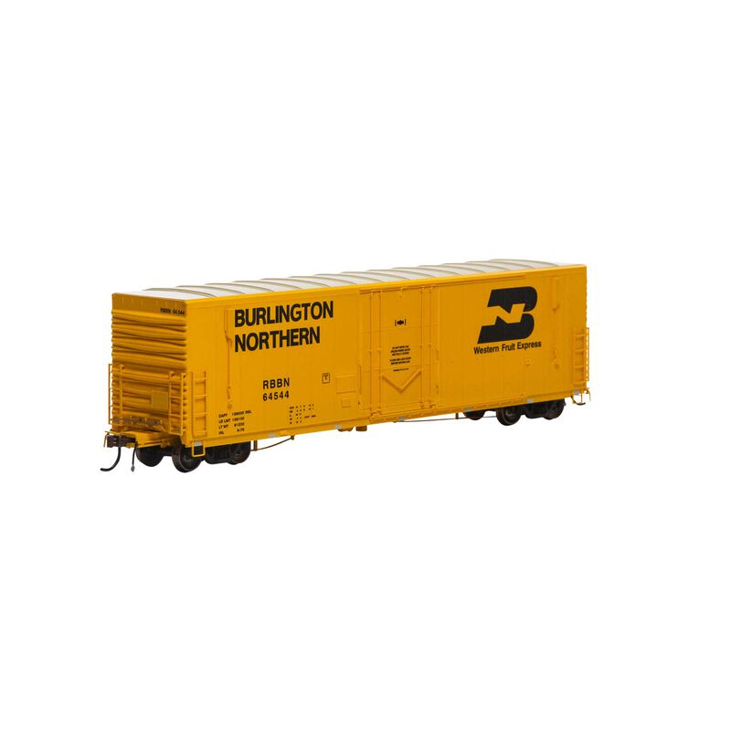 """HO 50' PC&F Welded Box with 10' 6"""" Door RBBN #64544"""