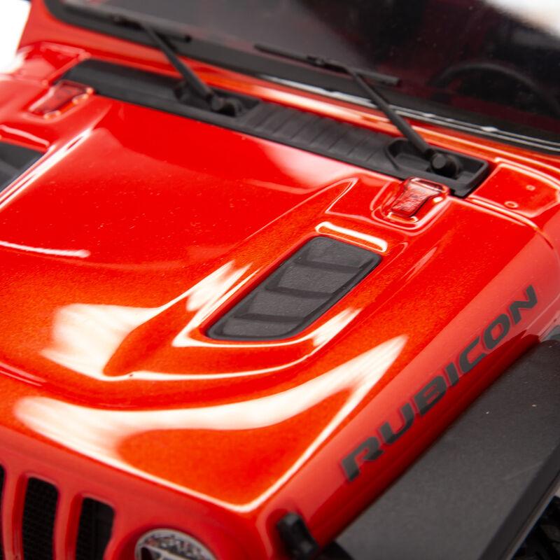 1/10 SCX10 III Jeep JLU Wrangler with Portals RTR, Orange