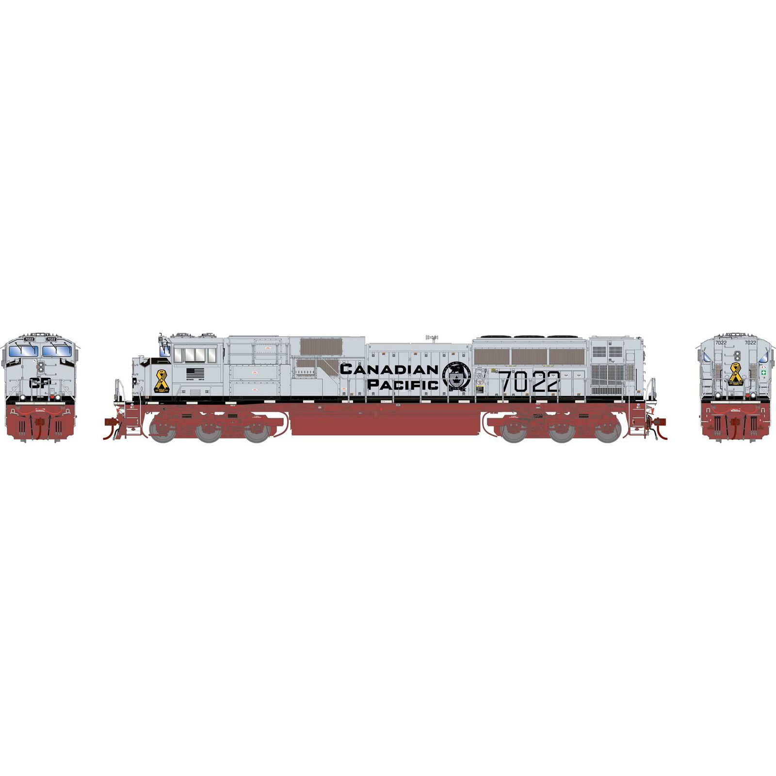 HO G2 SD70ACu with DCC & Sound, CPR #7022