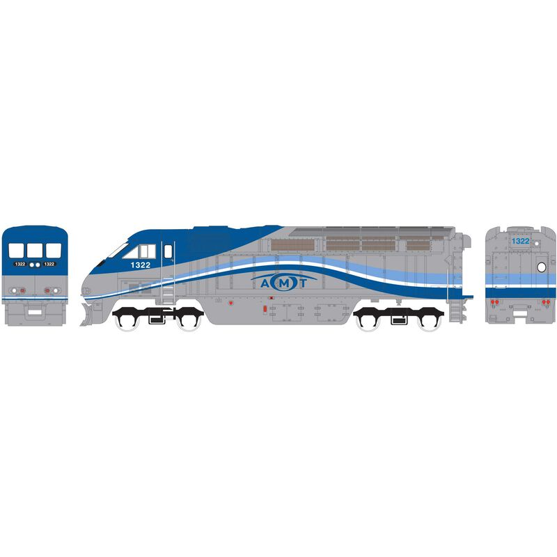 N F59PHI with DCC & Sound AMTL #1321