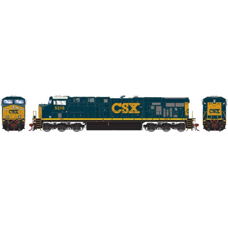 HO ES44DC CSX #5316