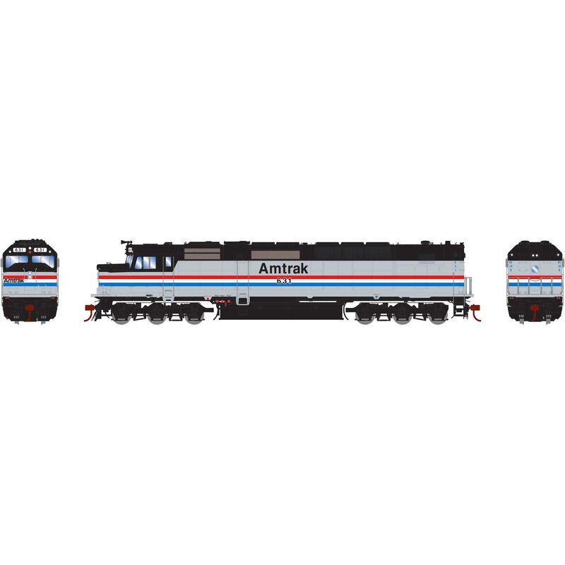 HO SDP40F Amtrak #631