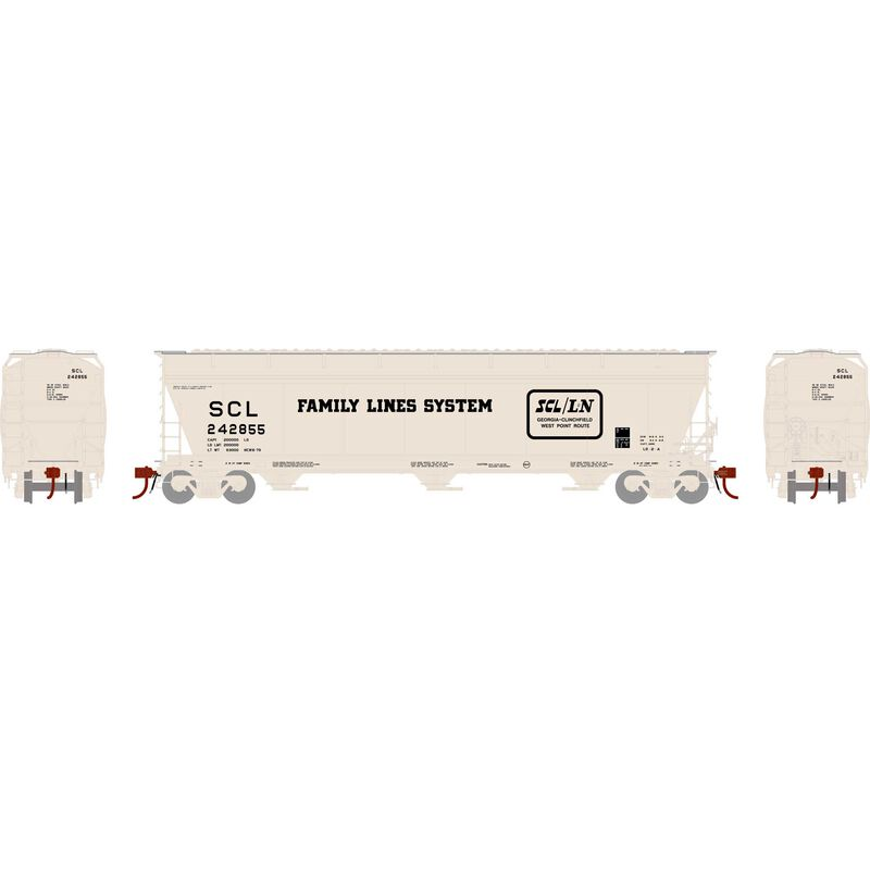 N ACF 4600 3-Bay Centerflow Hopper, SCL #242855
