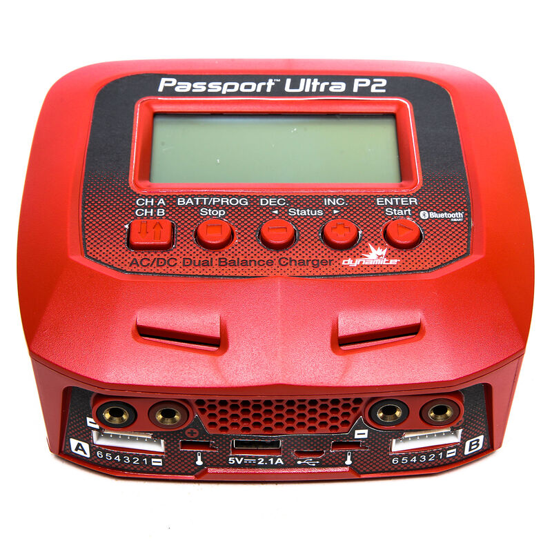 Passport P2 100W AC/DC 2-Port Multicharger with Bluetooth Connectivity
