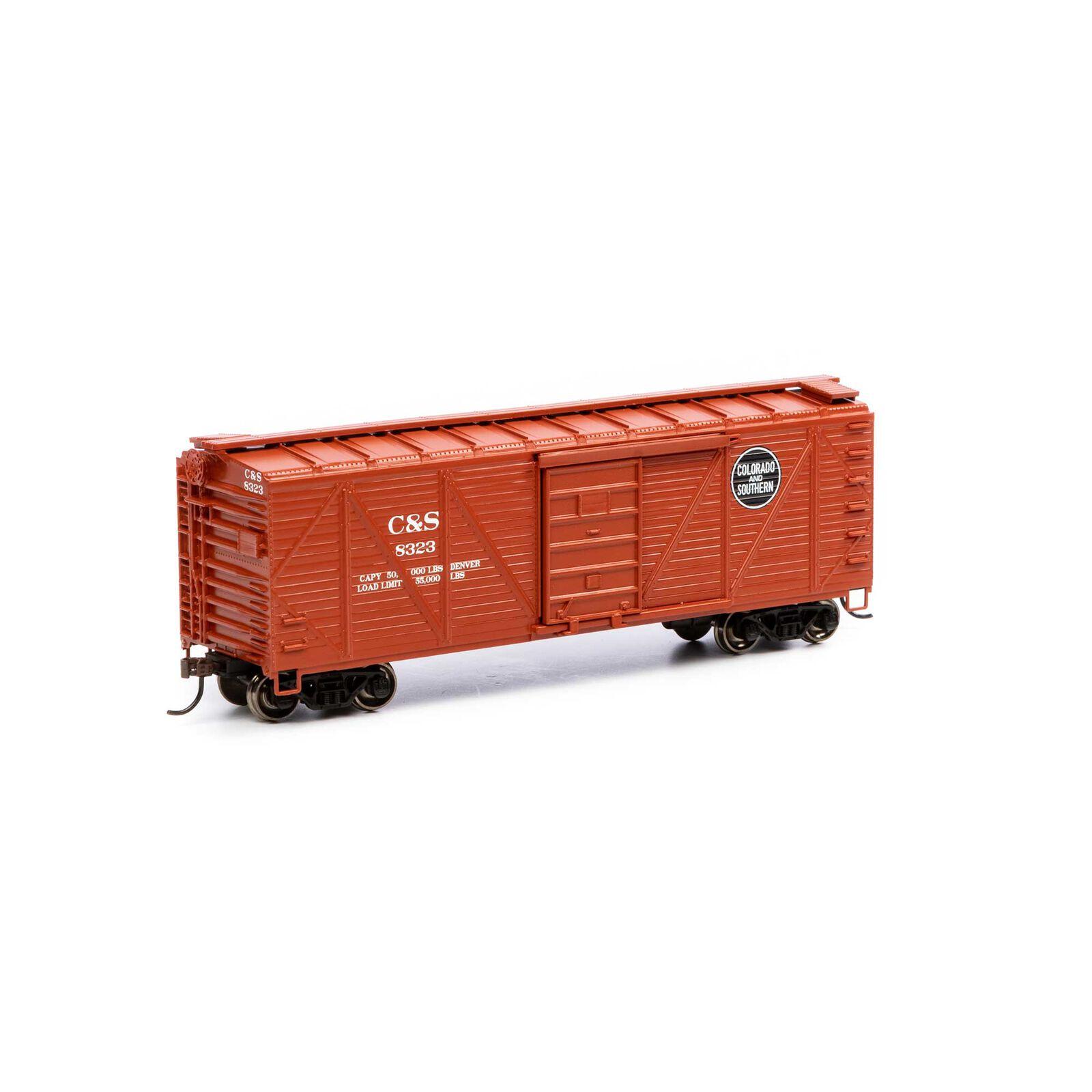 HO 40' Ribbed Wooden Box C&S #8323