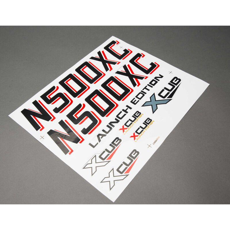 Decal Sheet: XCub 60cc