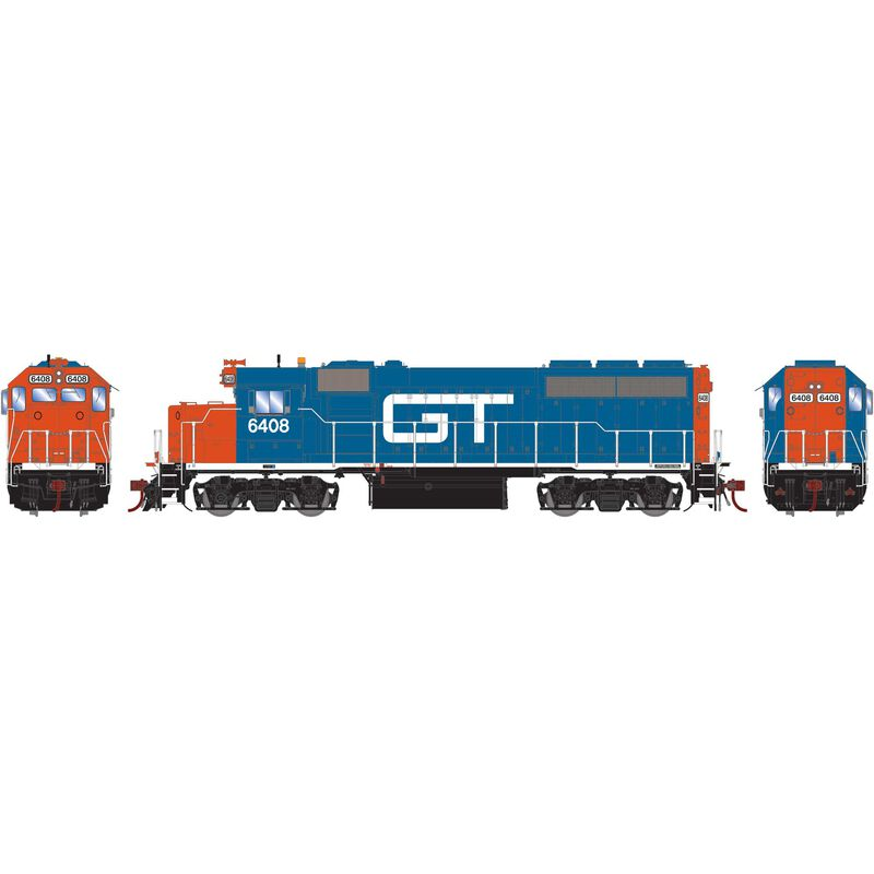 HO GP40-2 with DCC & Sound GT #6408