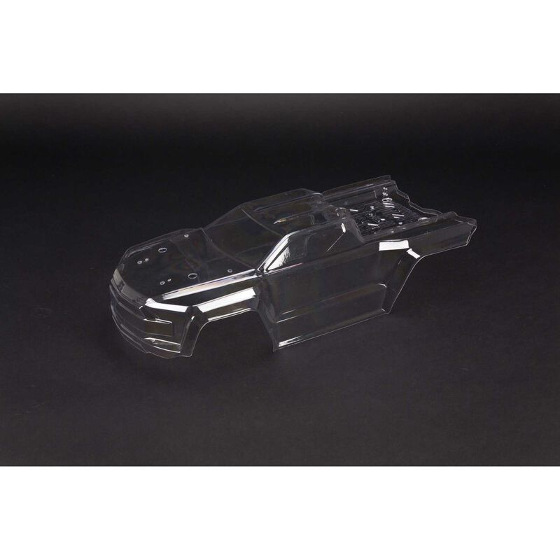 Kraton 4x4 Clear Body with Decals