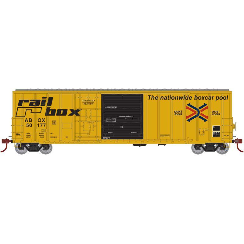 N 50' FMC Ex-Post Combo Door Box RBOX Early #50177