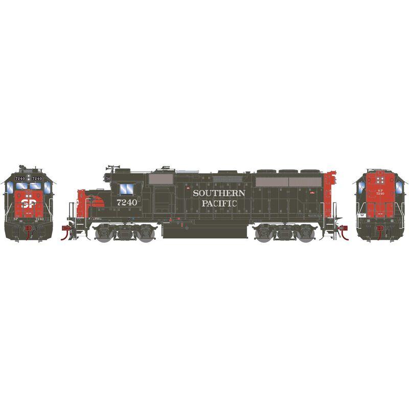 HO GP40-2 with DCC & Sound SP #7240