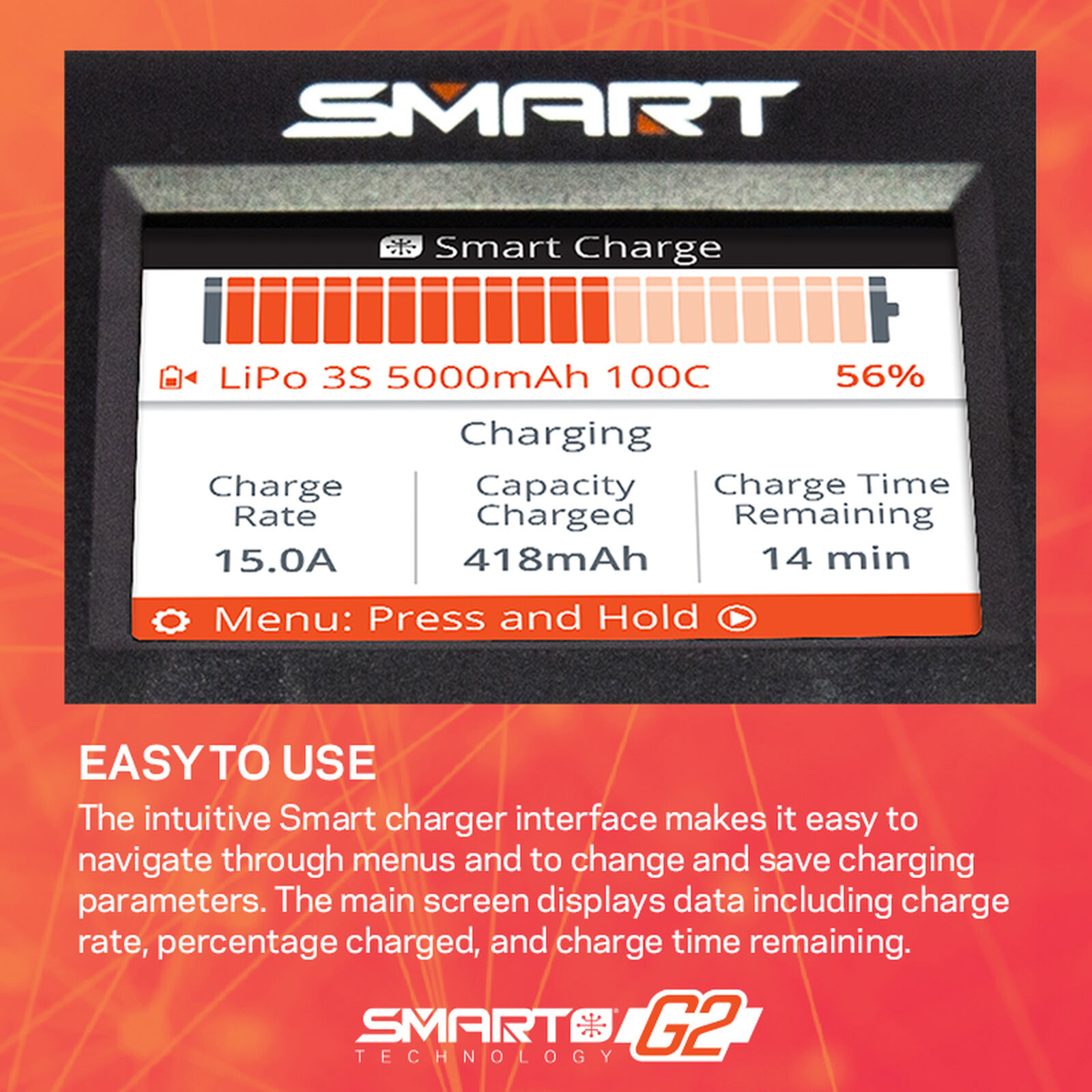 S2200 G2 AC 2x200W Smart Charger