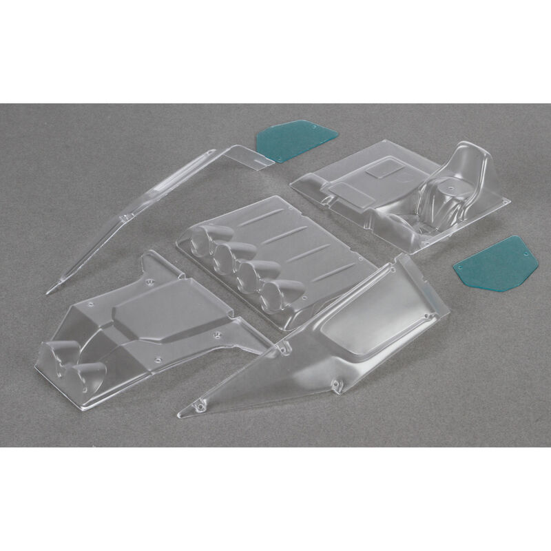 1/10 Clear Body Panel Set: Twin Hammers