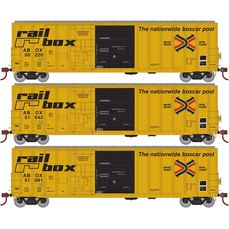 HO RTR 50' FMC Ex-Post Combo DoorBox RBOX Early(3)