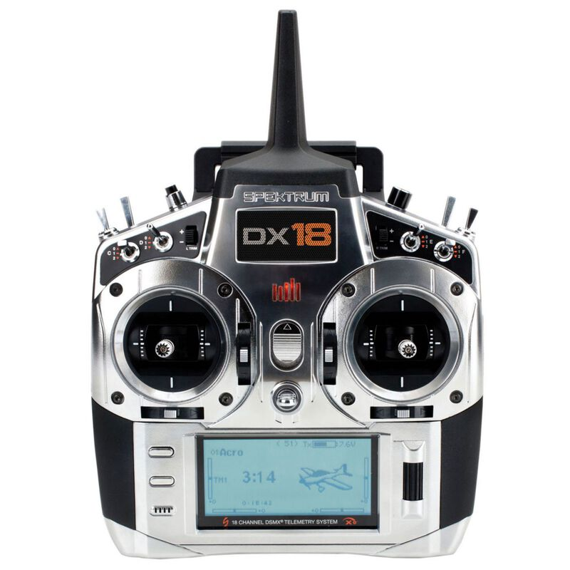 DX18 18-Channel DSMX Transmitter Gen 2 with AR9020, Mode 1