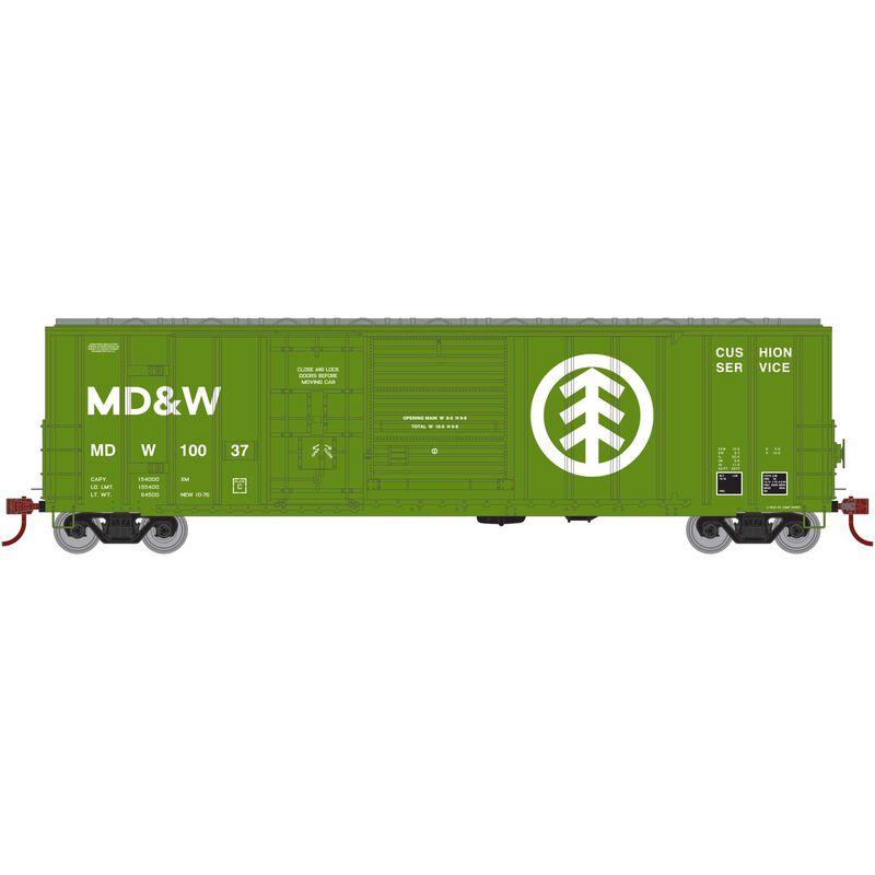 HO RTR 50' FMC Ex-Post Combo Door Box MD&W #10037