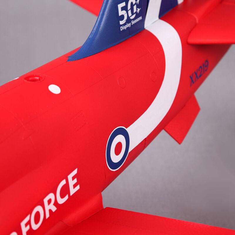 BAE Hawk Red Arrow 80mm EDF PNP