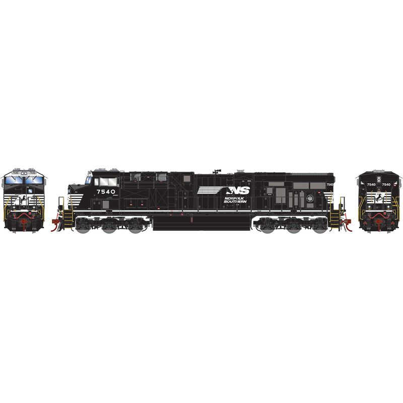 HO ES40DC NS with PTC #7540