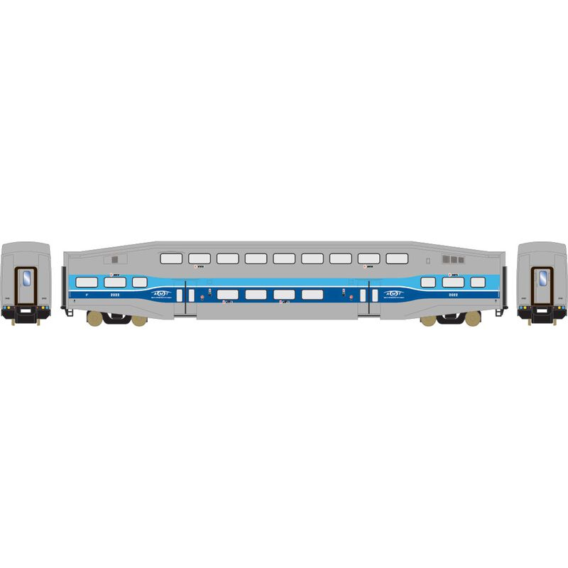 HO RTR Bombardier Coach, AMTL #2022