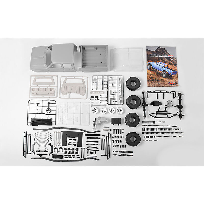 1/10 Trail Finder 2 LWB 4WD Truck Kit, Mojave II 4-Door Body
