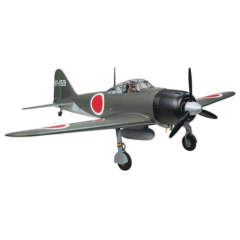 """Giant Zero A6M 50-60cc Gas ARF, 86"""""""