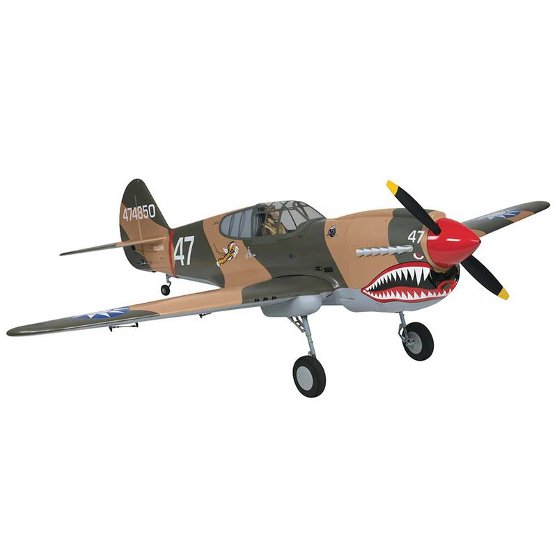 Giant P-40 Warhawk Scale GP ARF 2.6-3.3, 86""