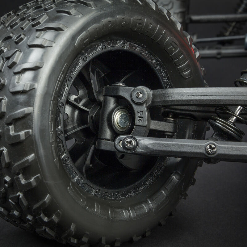 1/10 Granite Voltage 2WD Brushed Mega Monster Truck RTR, Red/Black