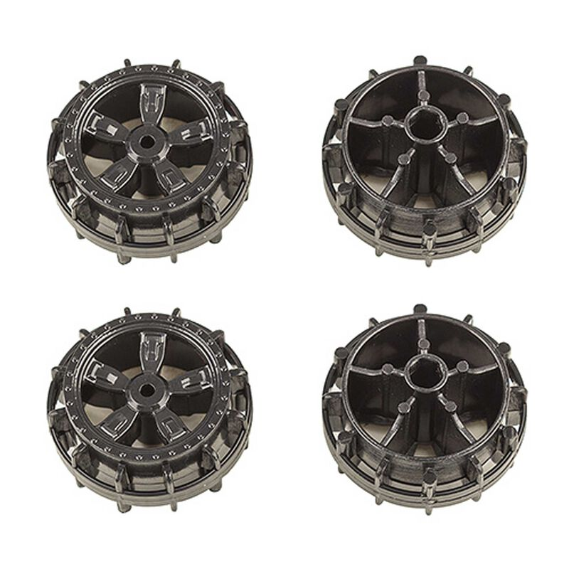 NanoSport Wheels, Black